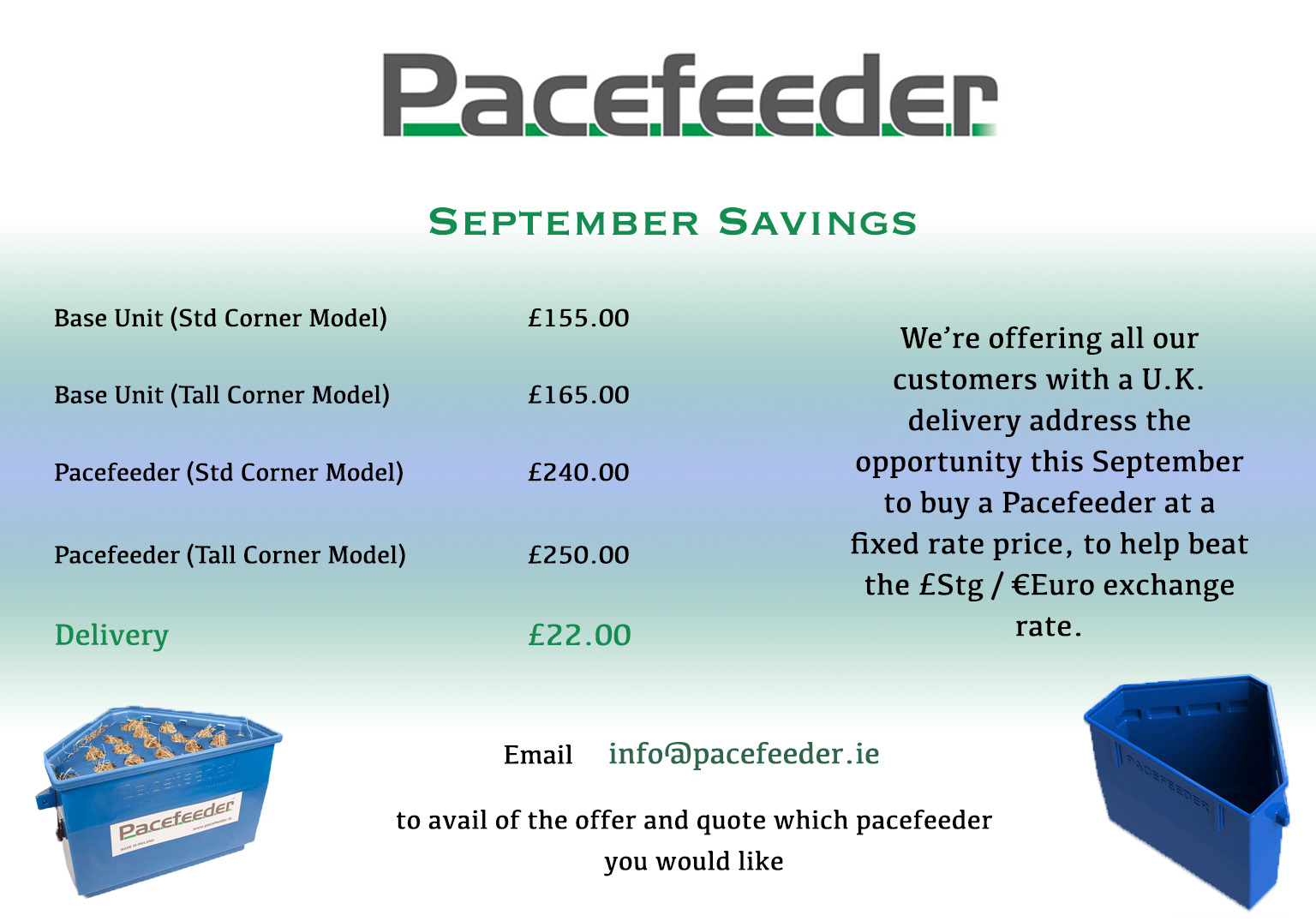 September UK Promotion September Savings!