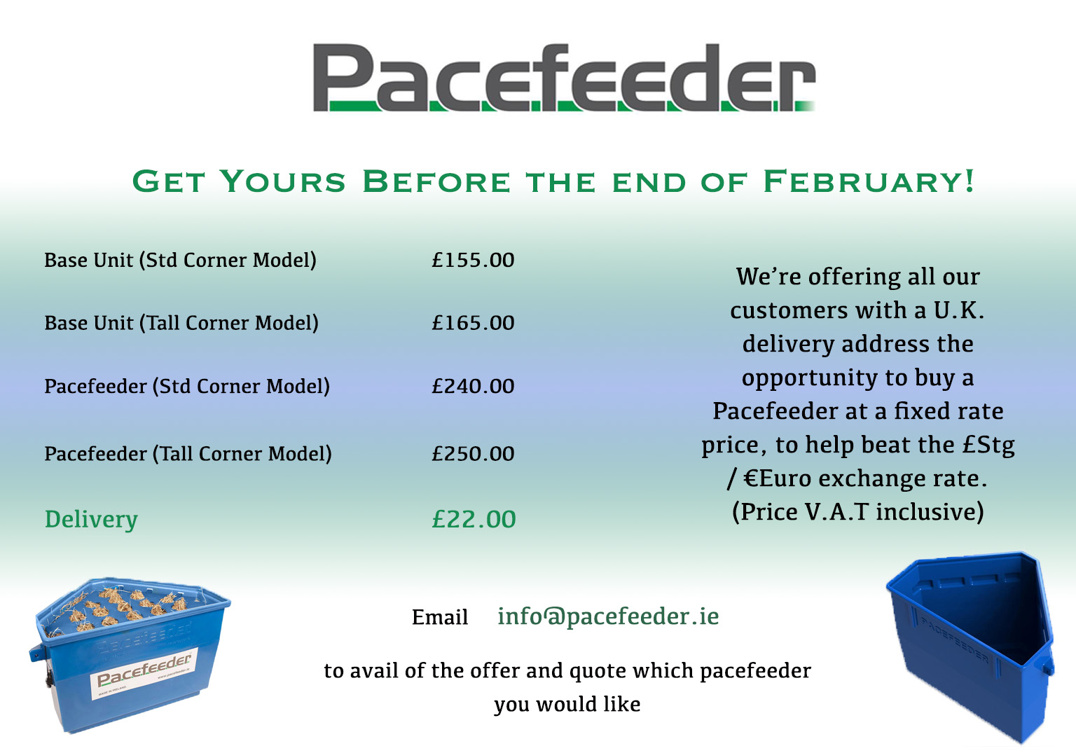 Jan Feb Promotion Pacefeeder the Natural and Healthy Way to Feed Horses!