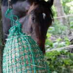 Slow hay net 2 150x150 Standard Corner Hay Manger (grey)